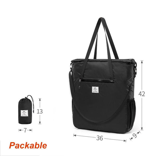 Packable Travel Tote Is Ultralight, 14L Capacity | Perfect For Destination Shopping