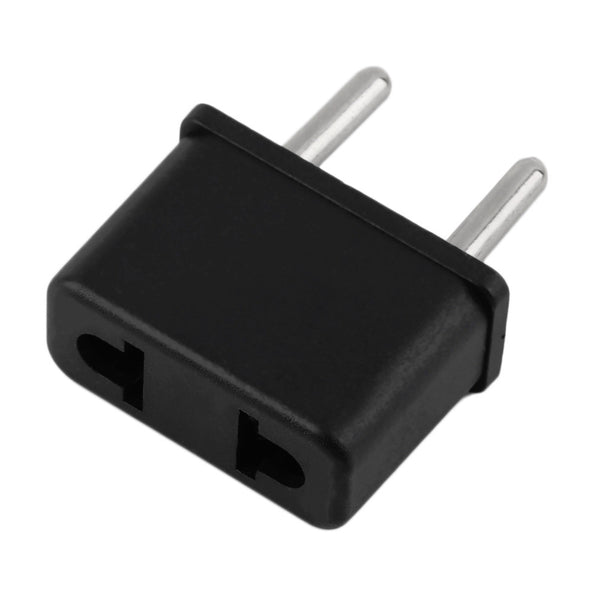 TRAVEL ADAPTER: Converts USA (110v) Plug To European (220V) Plug