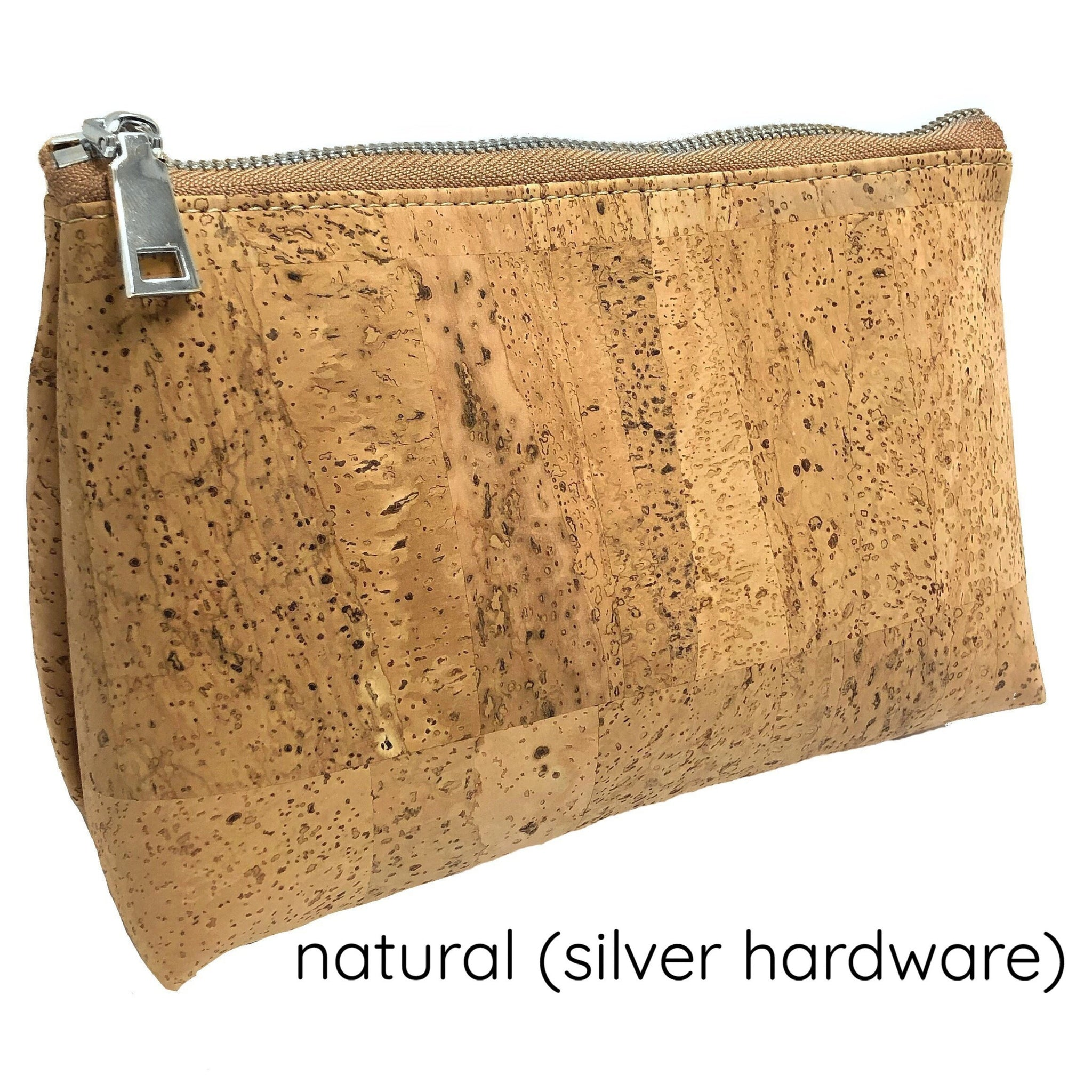 Cork Toiletry Pouch (Medium)