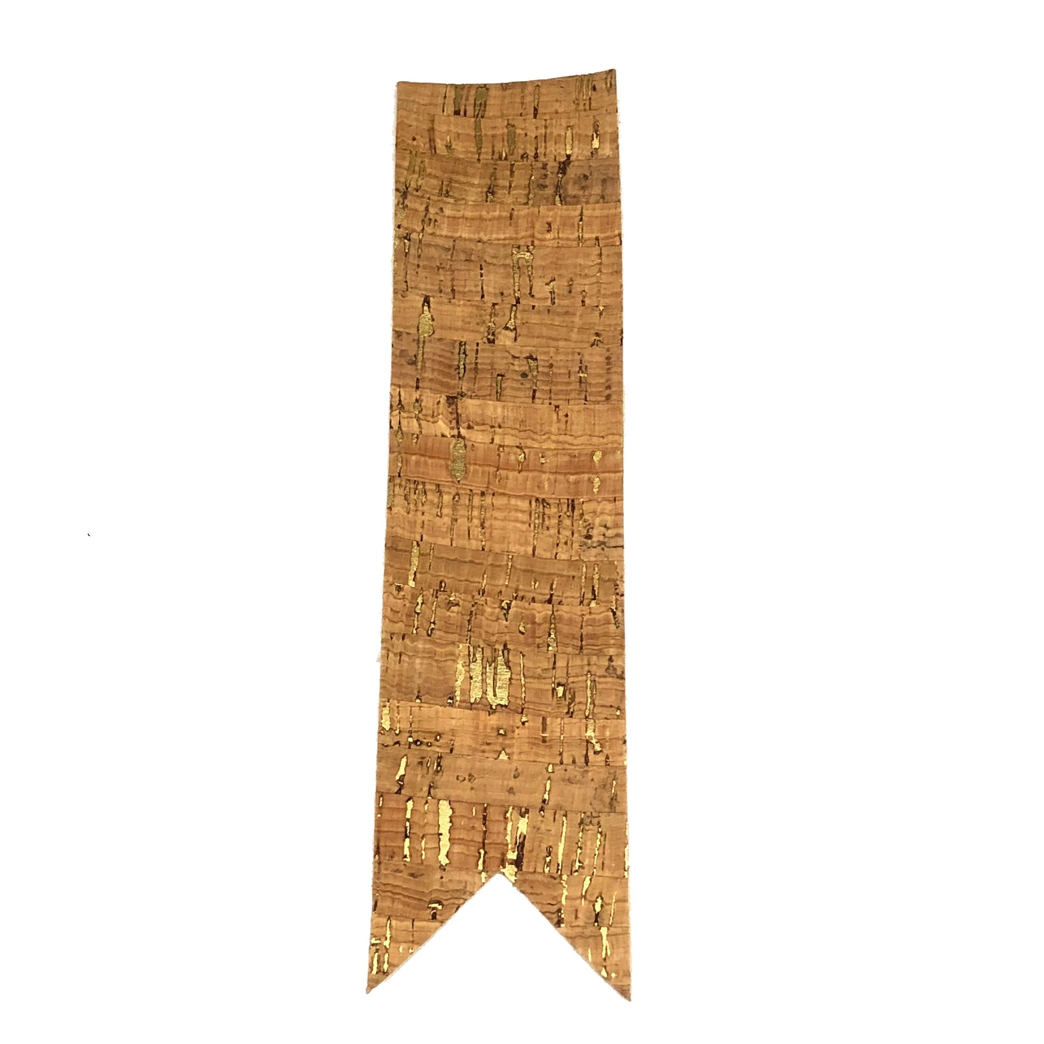 queork cork bookmark bamboo gold