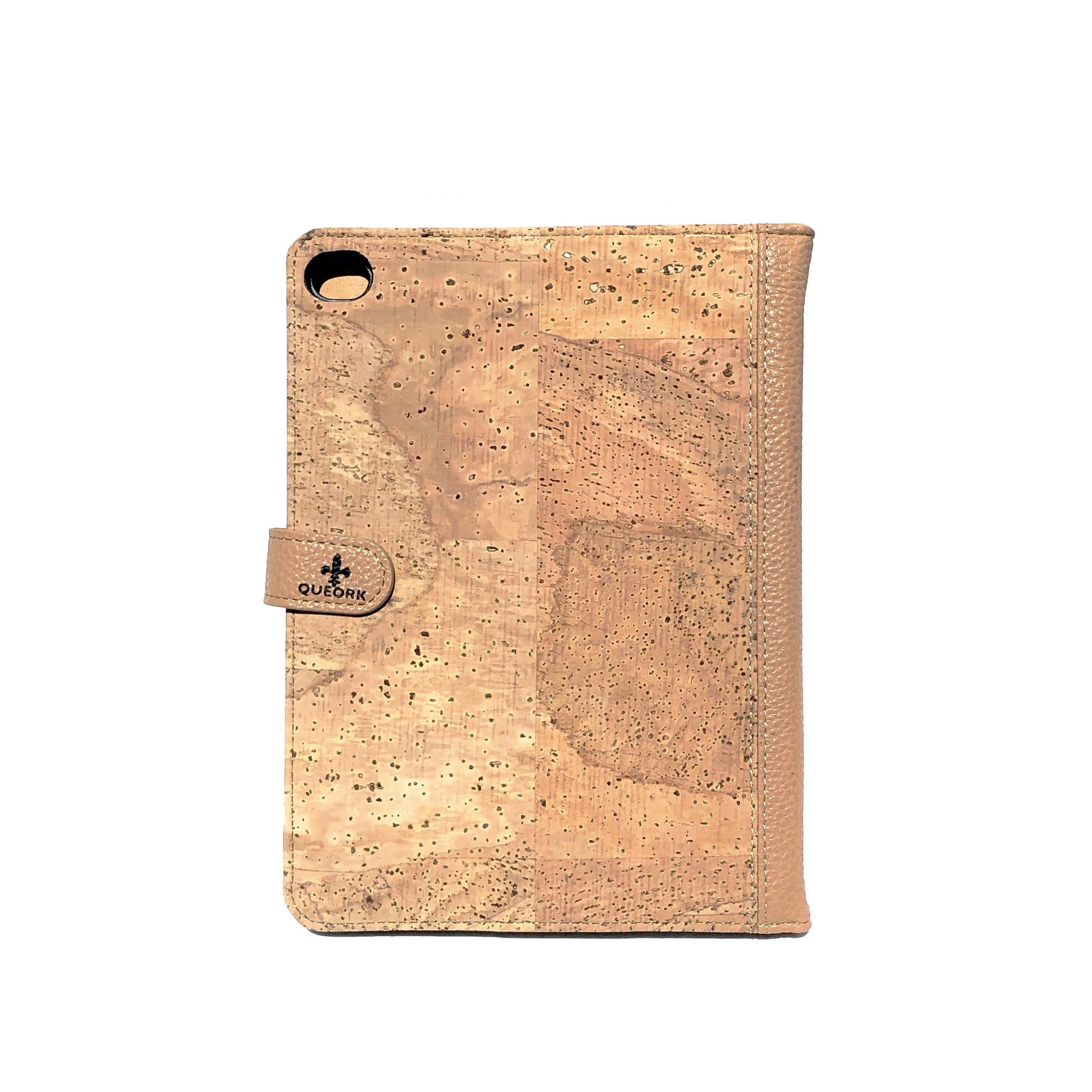 Real Cork Wood iPad Case