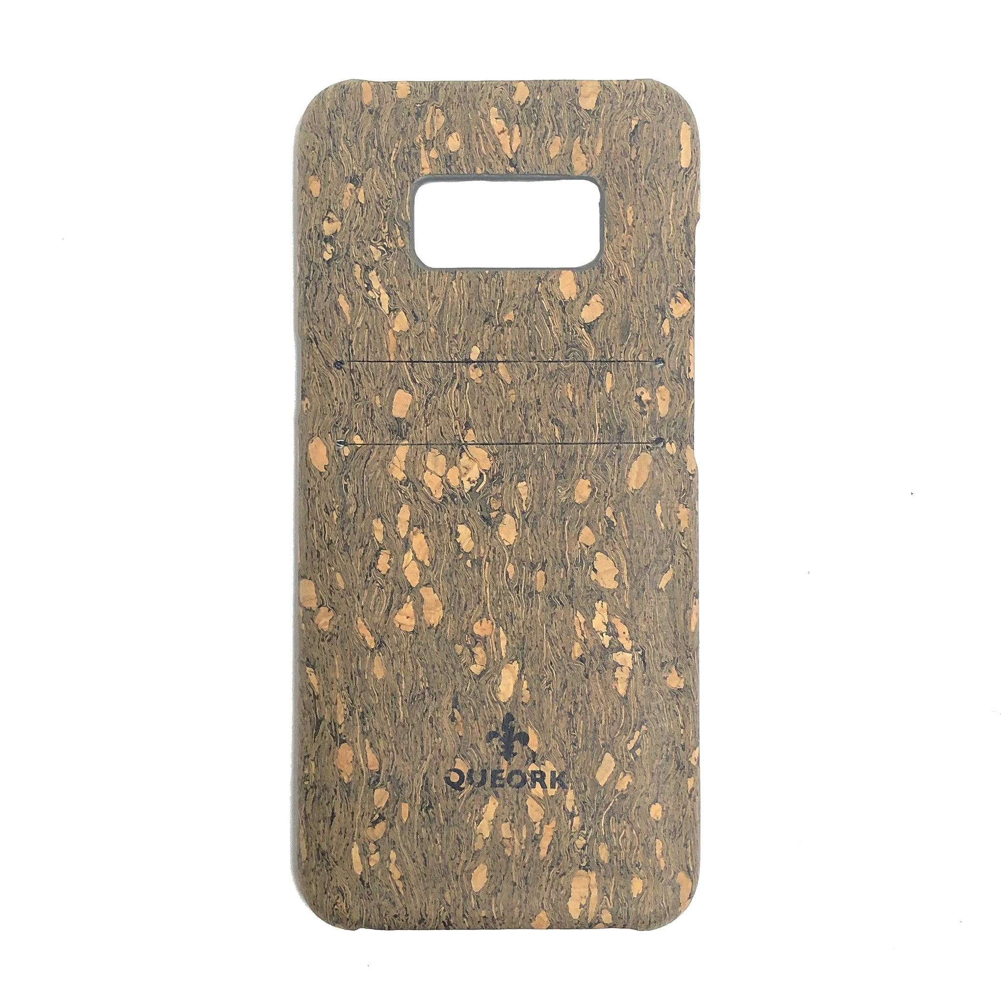 queork cork samsung phone case chips