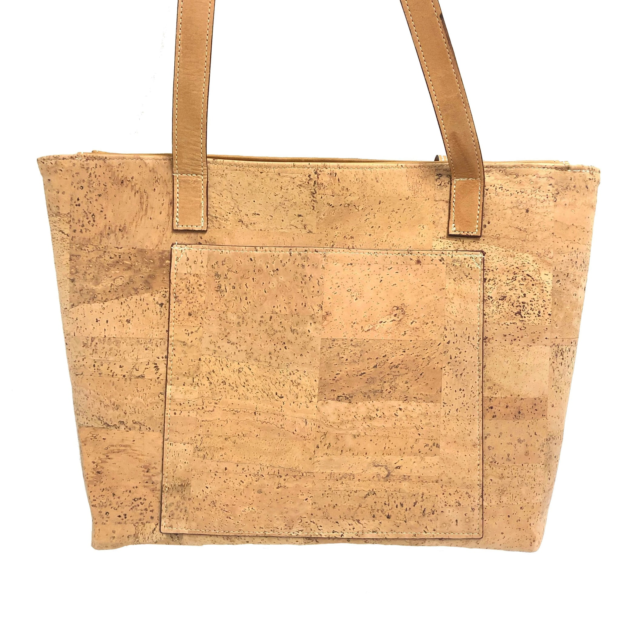 Burque cork tote handbag natural