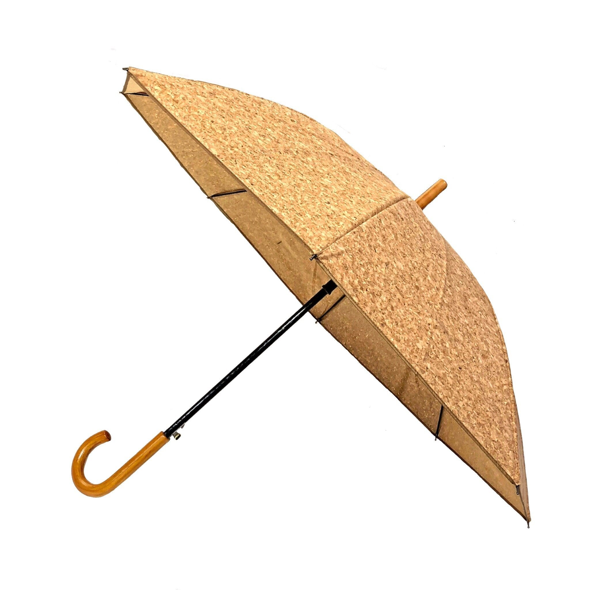 queork cork umbrella vegan