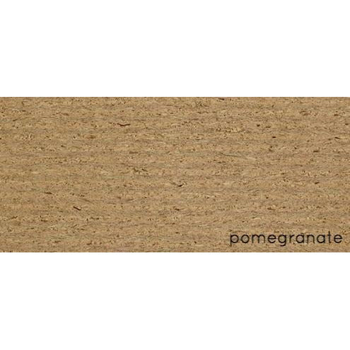 queork cork wall covering pomegranate