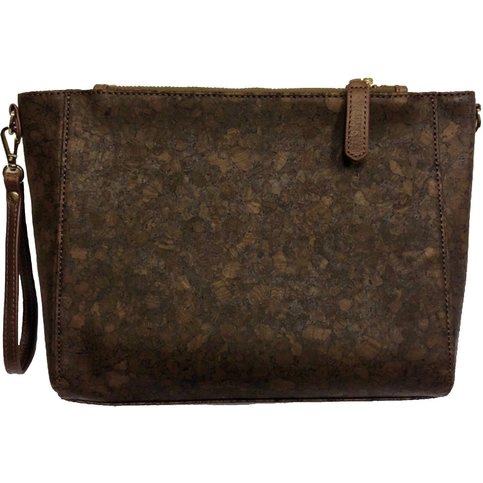 queork cork jackson mini handbag brown