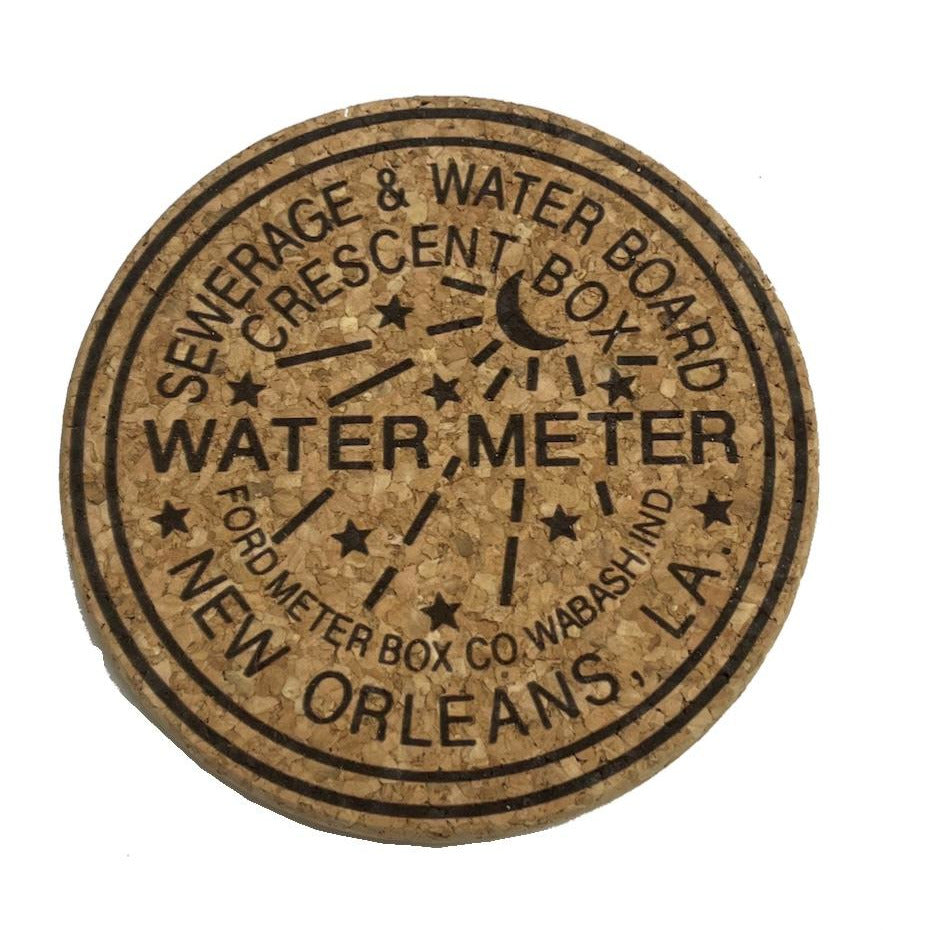 WATERMETER CORK TRIVETS & COASTERS