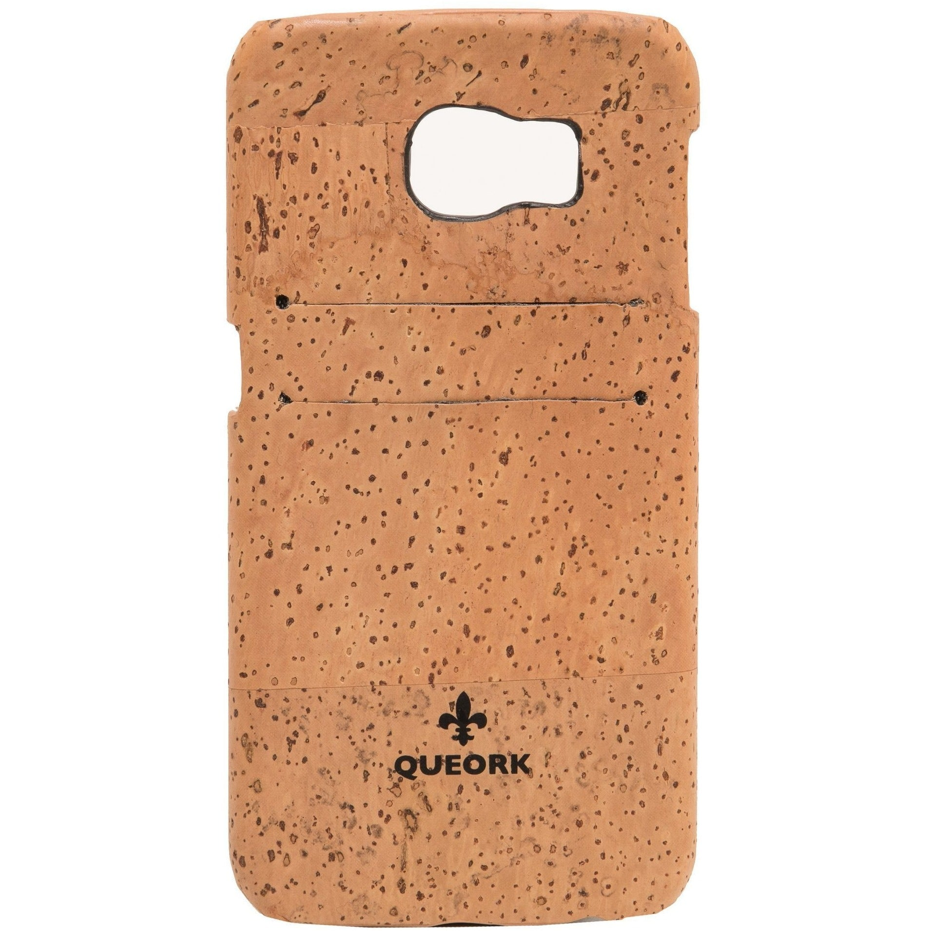 queork cork samsung phone case natural