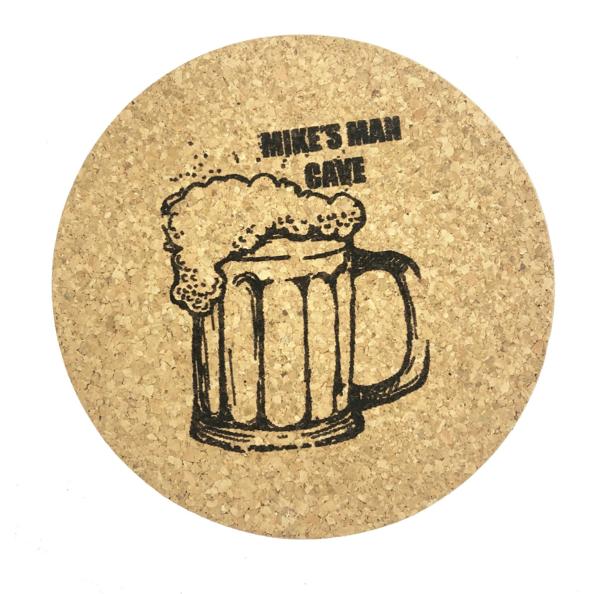 Custom Engraved Cork Trivet
