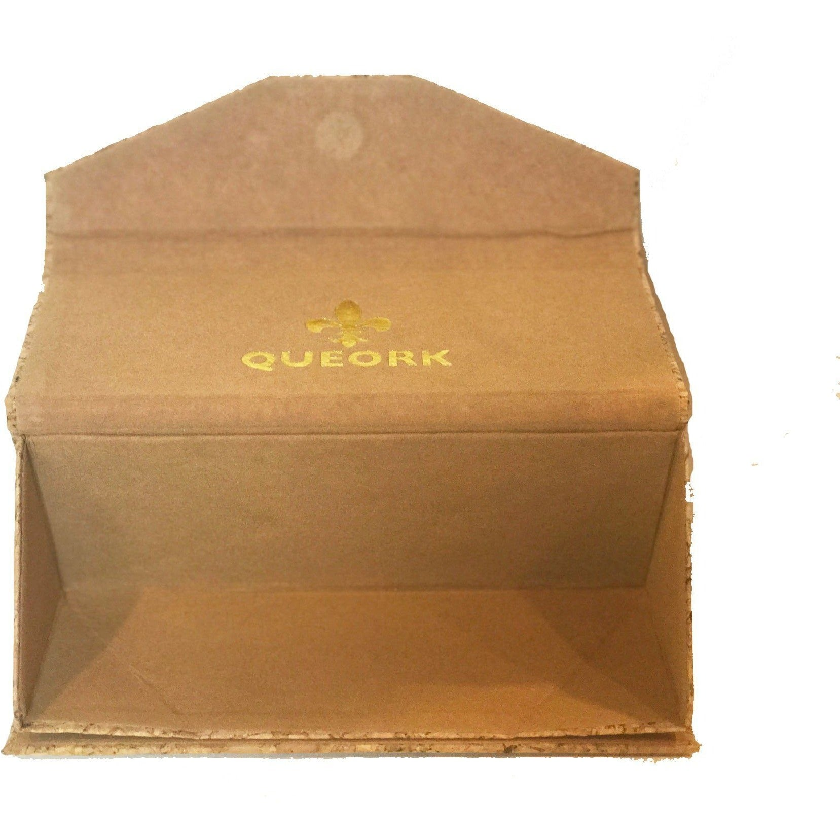 queork cork collapsible glasses case