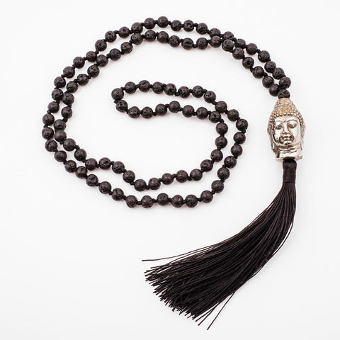 Necklace Buddha Lava