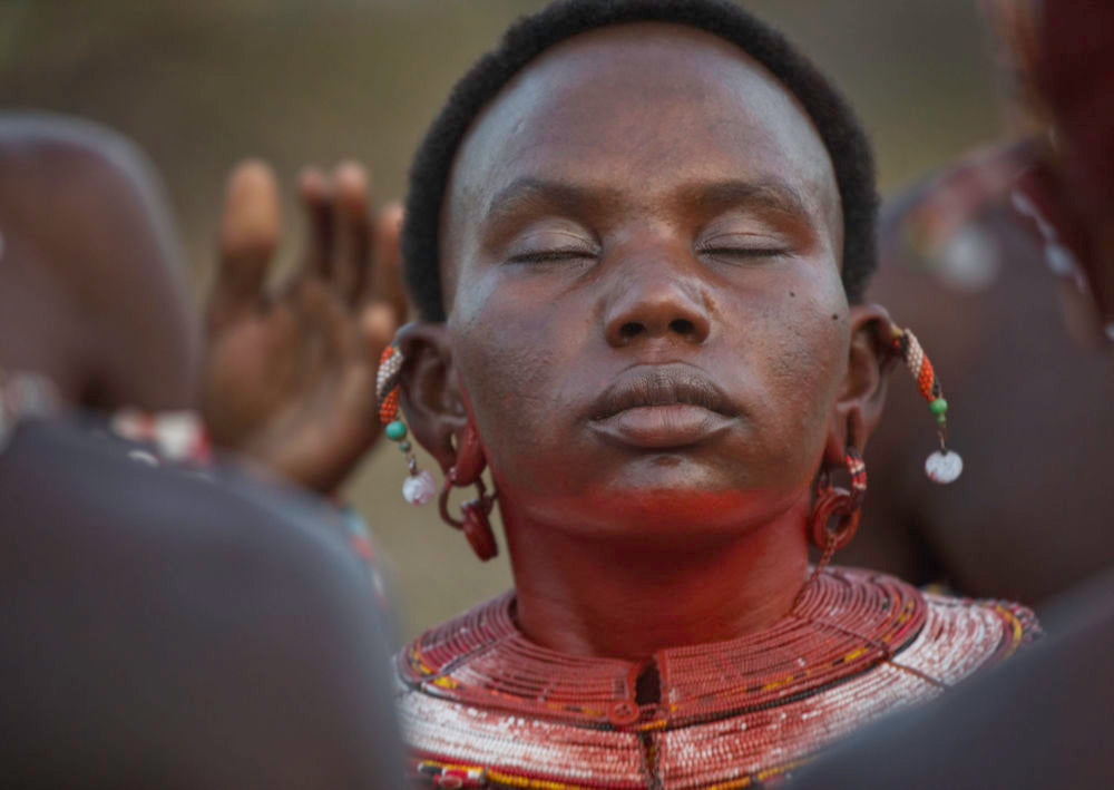 A Samburu wedding celebration in northwestern Kenya