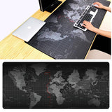 Huge Command Center World Map Mouse Pad