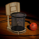Basketball Stand Desk Organizer