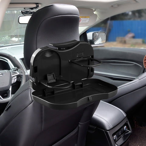 Folding Car Back Seat Tray Holder Drink Stand