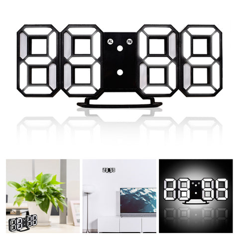 3D LED Desk Clock