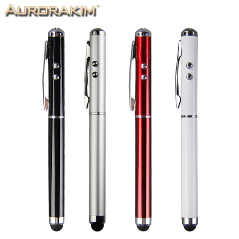 4 in 1 multifunction stylus pen laser for Ipad and iPhone