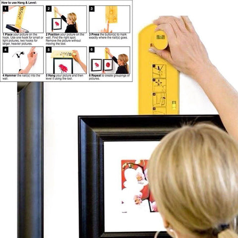 Easy Picture Frame Hanging Tool