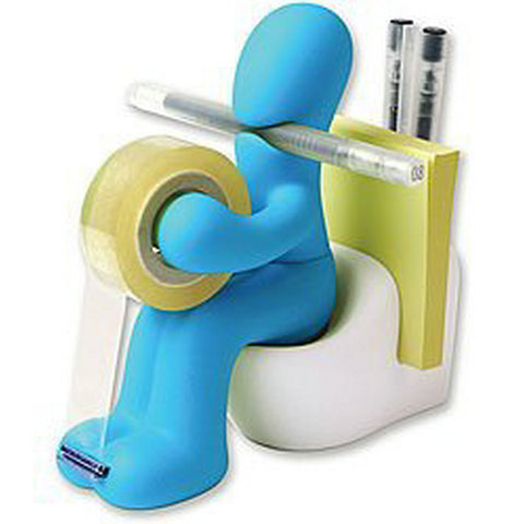 Desk Accessory Tape Dispenser Pen Memo Holder Clip Storage