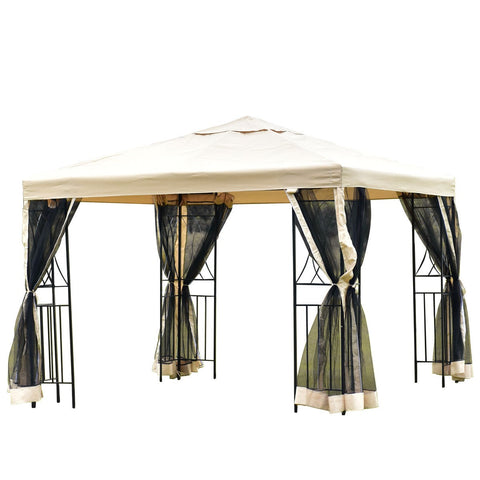 10' x 10' Patio Wedding Party Gazebo Shelter