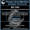 Power Arm Marlins Spring '19 Team Tryouts