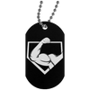 PAP Logo Black Dog Tag