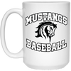 Mustangs BB -15 OZ Coffee Mug