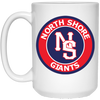 NS Giants -15oz White Coffee Mug