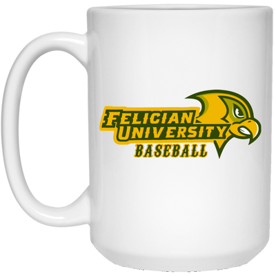 FU Baseball -15 oz. Coffee Mug