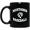Mustangs BB -Black Coffee Mug