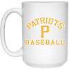 3V Patriots -15 oz. White Mug
