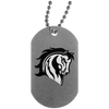 MS Mustangs -Dog Tag
