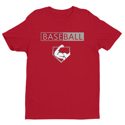 BASE | BALL Grey -Men's Perfect Fit Tee