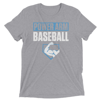 PAB NC BLUE- Men's Tri-Blend Tee