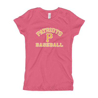 3V Patriots -Girl's Youth Perfect Fit Tee