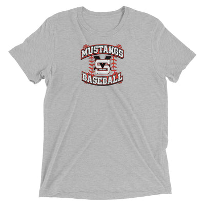 MS Mustangs BB -Men's Tri-Blend Tee