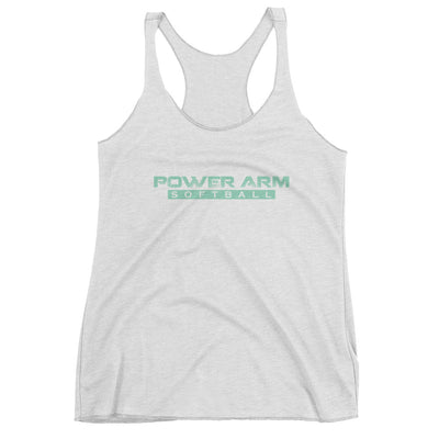 PA Softball Green- Women's Racerback