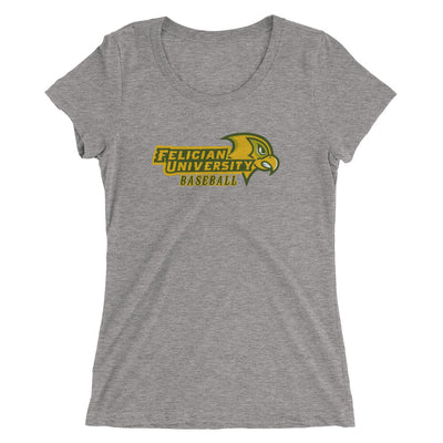 FU Baseball -Women's Triblend Tee
