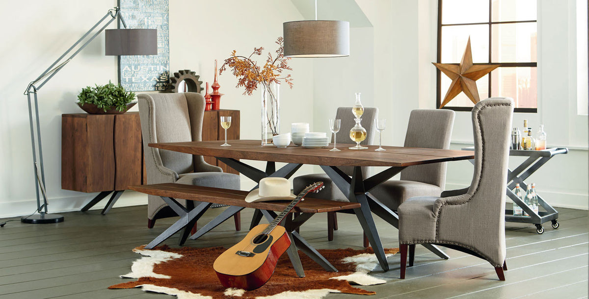 Burghala dining room furniture World Interiors Austin, Texas
