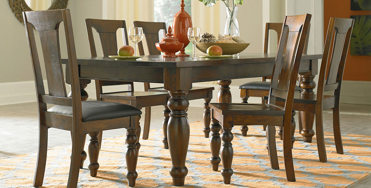 Industrial and vintage sustainable furniture at world interiors - Dining room sets austin tx ...