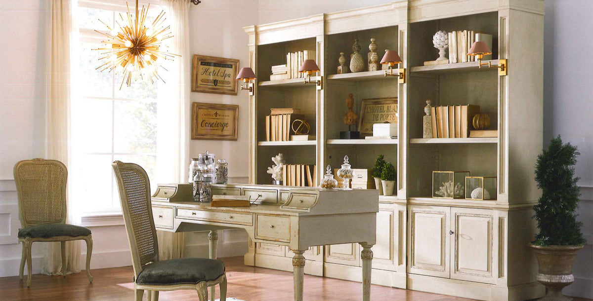 Giverny Desk and Bookcase from World Interiors and HTD in Austin, Texas