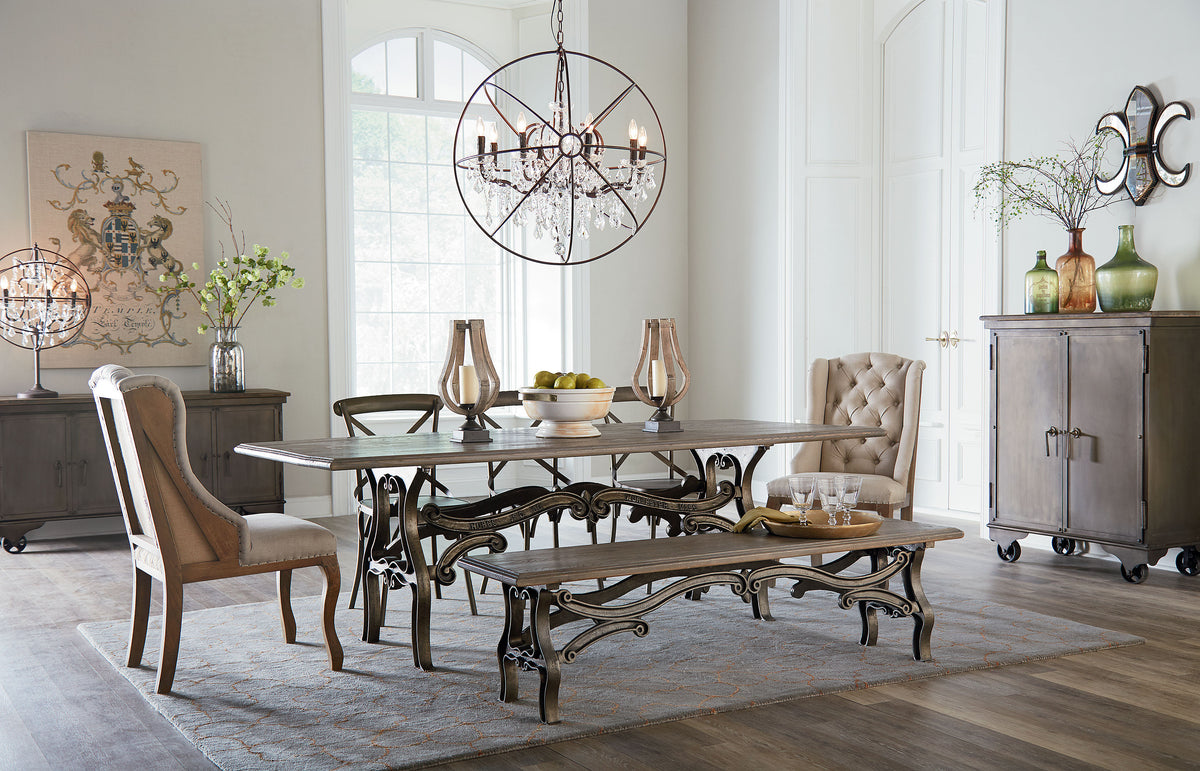 Solid Wood HEIRLOOM quality MID-century MODERN VINTAGE Dining Tables