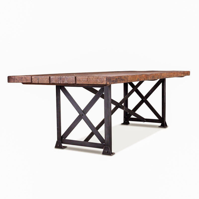 Melbourne Rustic Barnwood Dining Table