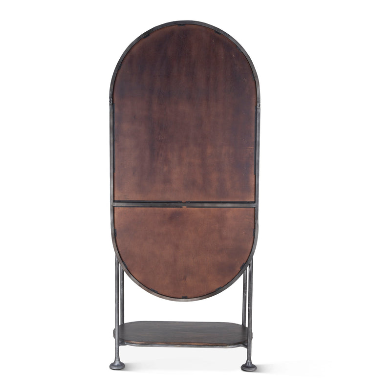 Melbourne Tall Oval Bar Cabinet