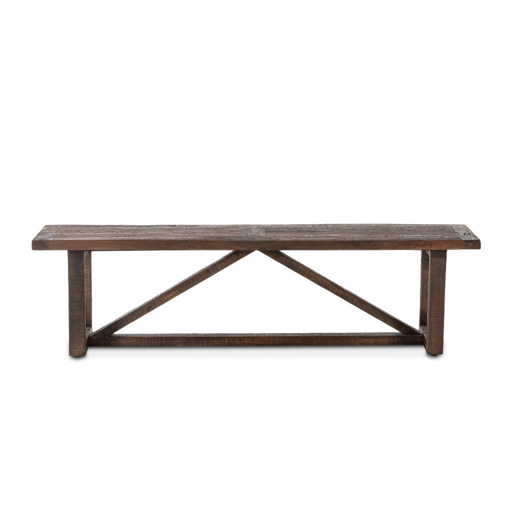 Savannah Modern Barnwood Bench