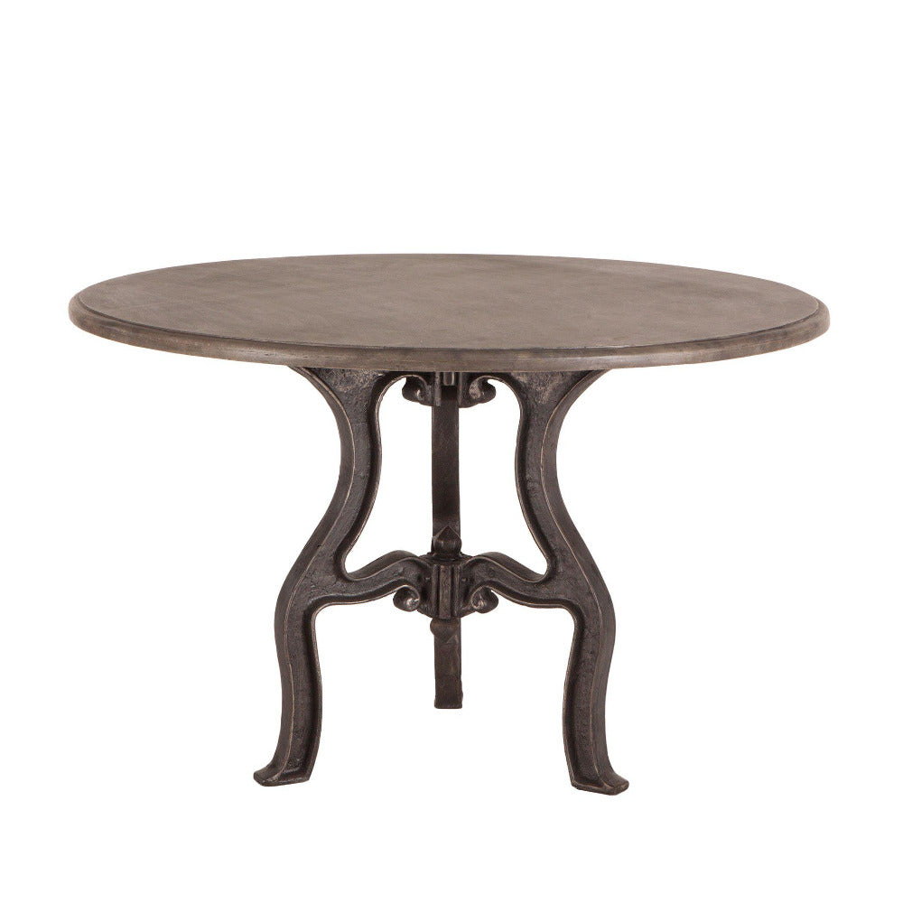 Regina Rustic Marble Dining Table