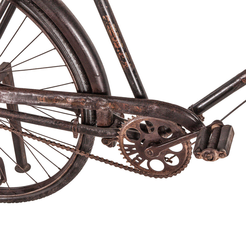 Paxton Reclaimed Teak Bicycle Console