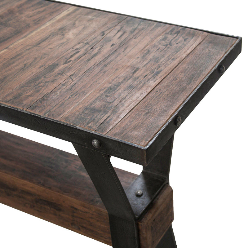 Paxton Reclaimed Teak Console Table