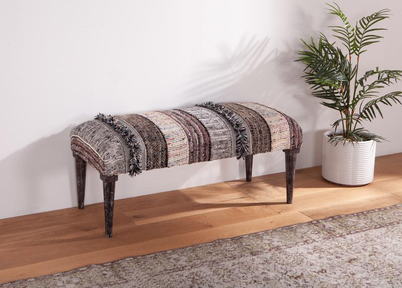Algiers 42-Inch Upholstered Bench