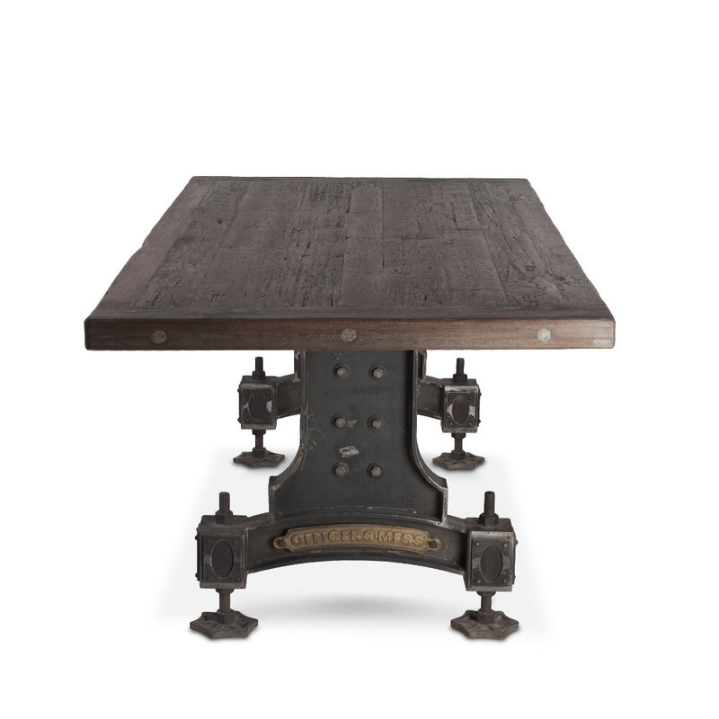 Sterling Industrial Officer's Mess Teak Wood Dining Table